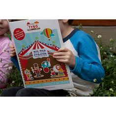 Little Tyro - Magnetic Big Top Circus Activity