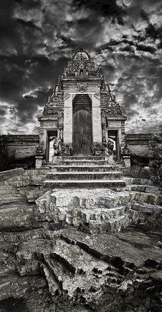 Balinese Temple Photograph  - Balinese Temple Fine Art Print