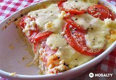 Paradicsomos mozzarellás kuszkusz Vegetable Recipes, Meat Recipes, Vegetarian Recipes, Healthy Recipes, Tomate Mozzarella, Vegas, Good Food, Yummy Food, Hungarian Recipes