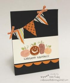 Halloween Happiness Card by LorriHeiling - Cards and Paper Crafts at Splitcoaststampers
