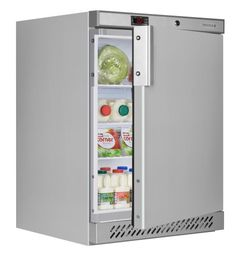 Tefcold UR200S Stainless Steel Undercounter Refrigerator