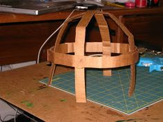 Happily Ever Crafter: DIY: Building a Medieval Helmet Out of Cardboard Knights Helmet, Viking Helmet, Shrek Costume, Hiccup Costume, Costumes, Diy Knight Costume, Celtic Costume, Medieval Banner, Cardboard Castle