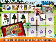 Fun games and animated books for children from the youngest age and all parents. Red Riding Hood, Fun Games, Kids And Parenting, Safety, Parents, Animation, App, Create, Toys