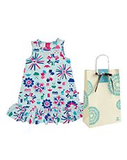 Presente Natura Crer Para Ver - Vestido Infantil + Embalagem