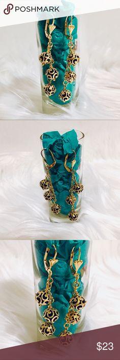 Spotted while shopping on Poshmark: ✂️Swarovski Gem 18k Yellow Gold-Filled Earrings! #poshmark #fashion #shopping #style #Jewelry