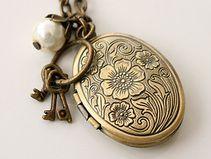 ᵀᴴᴱ Original Medaillon Halskette Vintage