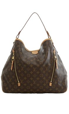 6507996fec78 GINNY Still want this Louis Vuitton Brown And Tan Shoulder Bag with zippers