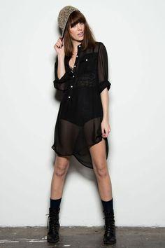 Safari Shirt Dress - Back2School - Shops | Uncovet