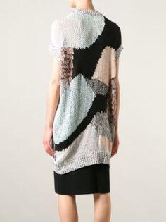 Mcq Alexander Mcqueen Oversized Open Knit Sweater - Eraldo - Farfetch.com