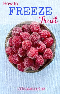 Most current Absolutely Free how to freeze fruit - the BEST tips for freezing fruit perfectly every time! Suggestions The most significant problems in the kitchen space is usually food safe-keeping methods. For centu Bulk Cooking, Freezer Cooking, Freezer Meals, Healthy Cooking, Healthy Eating, Crockpot Meals, Healthy Drinks, Healthy Foods, Cooking Tips