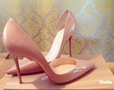 Birthday Treat  #Louboutin #Iriza #Patent #Nude