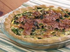 A French dish with Italian inspiration, Quiche Florentine is an elegant, yet…