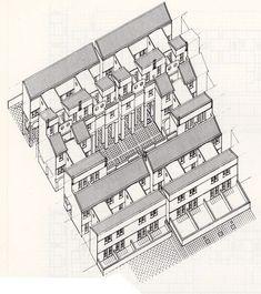 Housing Develpoment at Giudecca Island Giudecca Island, Venezia, Italy. 1984-1986 Architect: Gino Valle