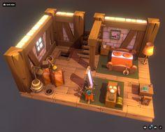 DOFUS Game 3D Fan Art, cgart. vn on ArtStation at https://www.artstation.com/artwork/RzB5e