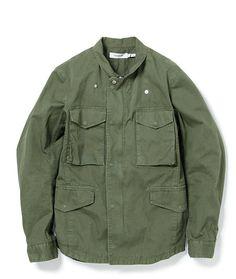light weight jacket with flap pockets and shrunken collar (SS13 Nonnative)