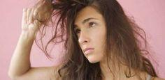 Kabarık saçlar için doğal çözüm