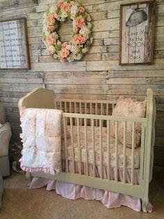 Rustic Baby Girl's Nursery