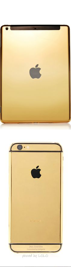GOLDGENIE 24K Gold Ipad Air and iPhone | LOLO (Apple Tech Ipad Air)