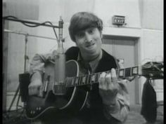 Beatles at Abbey Road Feb 26, 1964 Recording session - YouTube