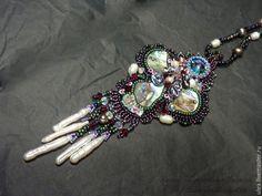 "Buy Pendant with pearl ""Treasure Undine"" on Livemaster online shop"