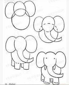 como dibujar animales para niños