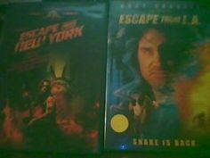 ESCAPE FROM NEW YORK AND ESCAPE FROM L.A. MOVIES