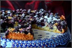 ciasto-z-borowkami-i-maka-kokosowa Acai Bowl, Muffin, Good Food, Cooking Recipes, Baking, Fruit, Breakfast, Sweet, Cakes