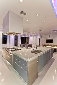 50 Best Kitchen Design Ideas for 2016 More - - dream house luxury home house rooms bedroom furniture home bathroom home modern homes interior penthouse Luxury Kitchen Design, Best Kitchen Designs, Luxury Kitchens, Interior Design Kitchen, Cool Kitchens, Kitchen Ideas, Kitchen Decor, Diy Kitchen, Kitchen White