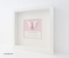 Taufgeschenke, Babygeschenke, Schutzengel Bild, Engel Holzfigur rosa 1