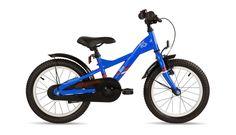 1400,- s'cool XXlite 16 steel Børnecykel rød/blå