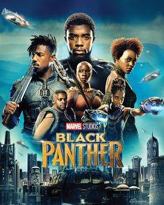 Poster image of Marvel Studios' BLACK PANTHER.