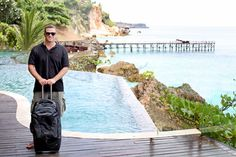 Lee Abbamonte, the youngest traveler to visit every country in the world. Photo courtesy of Ayana Resort & Spa, Bali.