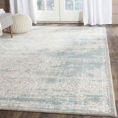 Avail aug 17Found it at Joss & Main - Dionne Turquoise/Ivory Area Rug