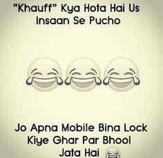 Hahaha... Sahi hai...