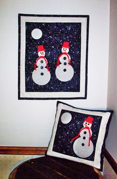 This pair is a must have for the winter season. When you use Rock Candy Glow in the Dark fabric, it adds to the fun of the adorable but simple design.  This pattern is compatible with AccuQuilt GO! Fabric Cutter.