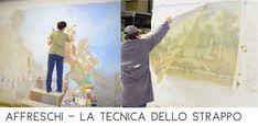 Alla Mariani Affreschi Academy puoi lavorare con un gruppo di esperti e apprendere la tecnica della decorazione con l'affresco. Murals, Trendy Tree
