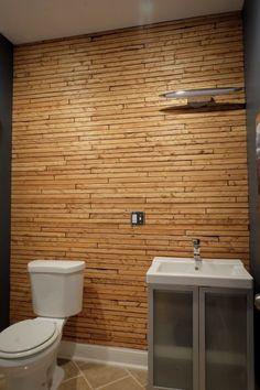 How to transform a wall, and a room, with inexpensive wood lath!