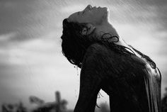 Deep feelings always mean more than they are capable of saying. — Albert Camus, The Myth Of Sisyphus Black White Photos, Black And White, Smell Of Rain, Weather Rain, Rain Storm, Boudoir Photography, Photography Ideas, Love And Light, Fantasy Art