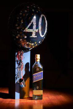 Johnnie Walker Blue Label 40th Birthday Ed.