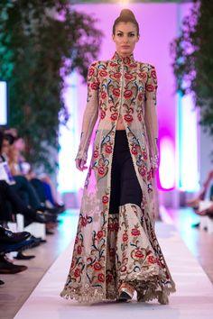 Anamika Khanna Couture at #FashionParade2014 #fashionshows #designerdresses
