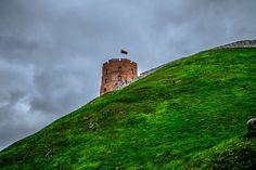 Wzgórze Gedymina Lithuania, Monument Valley, Mountains, Nature, Travel, Naturaleza, Viajes, Destinations, Traveling