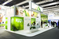 We Provided Efficient, sustainable, creative and powerful impact. Exhibition Stall, Exhibition Stand Design, Exhibition Display, Mwc Barcelona, Booth Design, Museums, Building, Creative, Inspiration