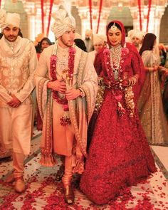 Priyanka Chopra and Nick Jonas are now man and wife but we are still not Indian Groom Dress, Wedding Dresses Men Indian, Indian Wedding Couple, Wedding Dress Men, Indian Bridal, Indian Weddings, Indian Wear, Nick Jonas, Audrey Hepburn