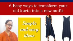 Turn your kurta into a new outfit Find Us On Facebook, Indian Designer Outfits, New Outfits, Diy Fashion, News, Youtube, Summer, Instagram, Summer Time