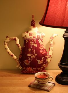 Teapot Pillow | Flickr - Photo Sharing!
