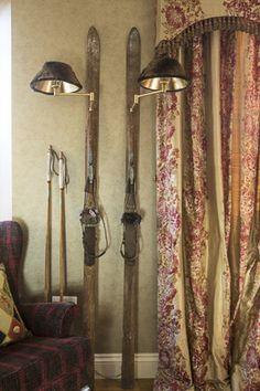 Antique Ski Lamp