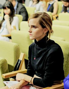 Emma Watson - UN Press Conference - HeForShe University Parity Report Launch, NYC (9/20/16)
