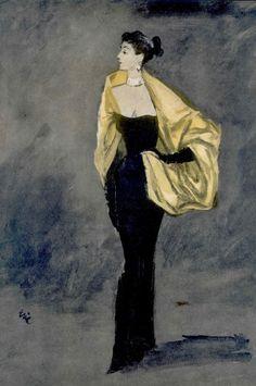 Vogue 1957 - Balenciaga