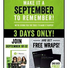 need a new job now is the time join the it works global business