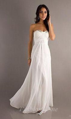 white long dress #anna7891 #whitedress #longfashion  www.2dayslook.com